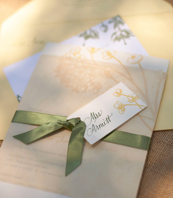 The Bride S Cafe Wedding Papers